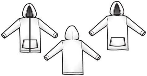 free hoodie template kostenlose vector hoodie vorlagen cliparts clipart