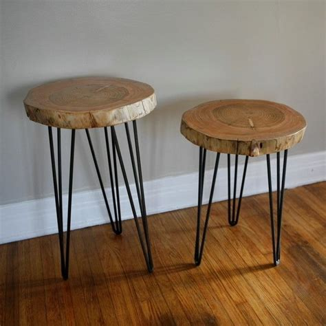 diy wood end table 25 best ideas about tree stump table on tree