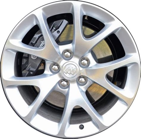 aly4108 buick regal lacrosse wheel silver machined 13258241