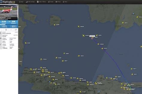 airasia last call missing airasia flight last detected position about 100