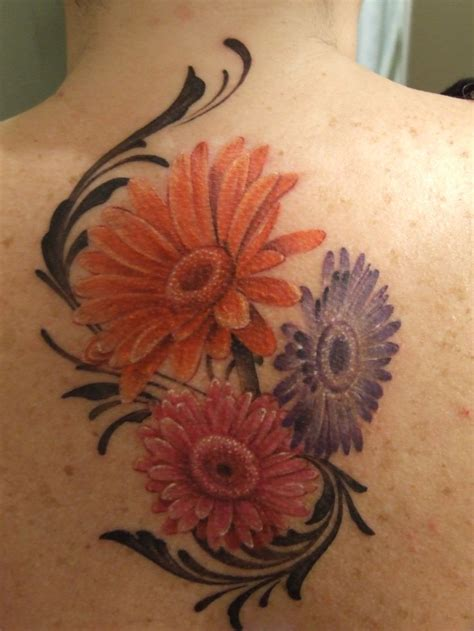 daisies tattoo my new gerbera ideas