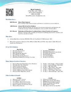 College Resume Exles For High School Seniors by Sle Resume For High School Senior For College