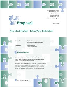 high school proposal template 8 high school student