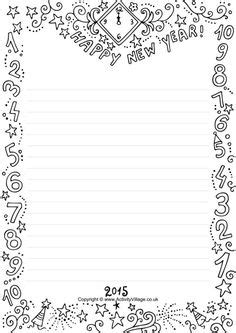 new year printable border happy new year border clip 10