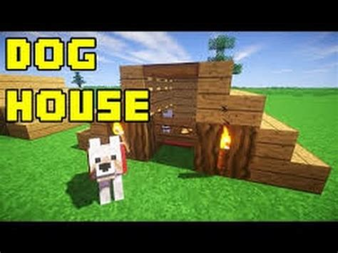 how to make a simple dog house out of wood minecraft how to make a simple dog house in minecraft easy youtube