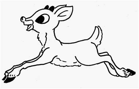 coloring pages deer rudolf rudolph coloring sheet free coloring sheet