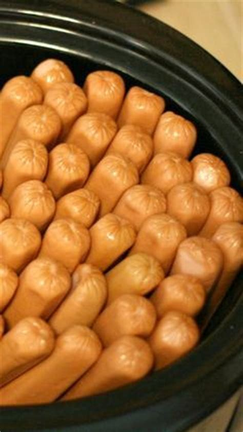 how to cook dogs in crock pot crock pot dogs for a crowd a year of cooking