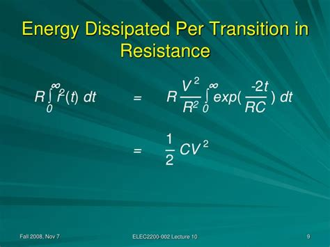 energy dissipated by resistor rc circuit energy dissipated by a resistor in an rc circuit 28 images resistor led power dissipation