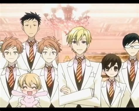 ouran high school host club characters www pixshark images