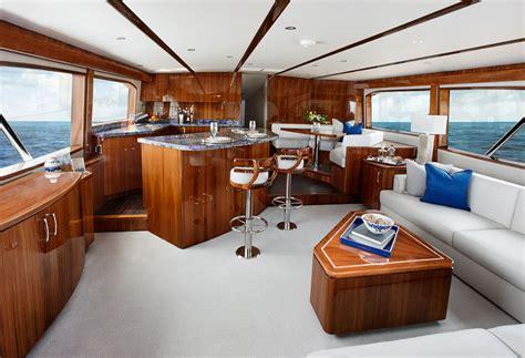 fishing boat interiors hatteras yachts 70gt convertible sportfishing yacht