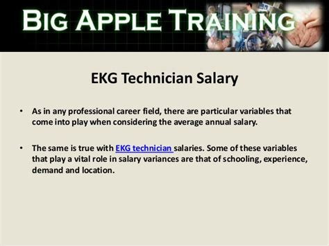 Electrocardiogram Technician Salary by Ekg Technician In Westchester