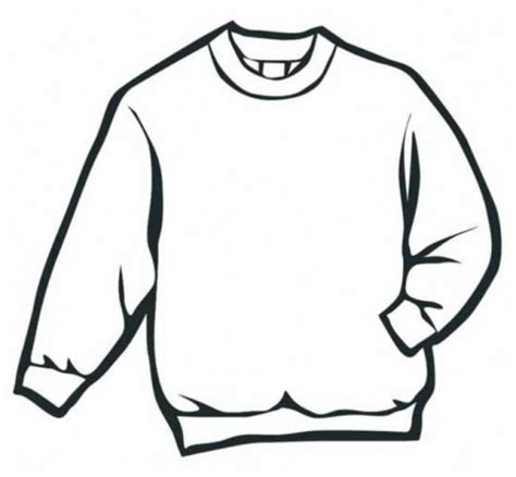 Sweater Winter Clothes Coloring Page Free Coloring Pages Sweater Coloring Page