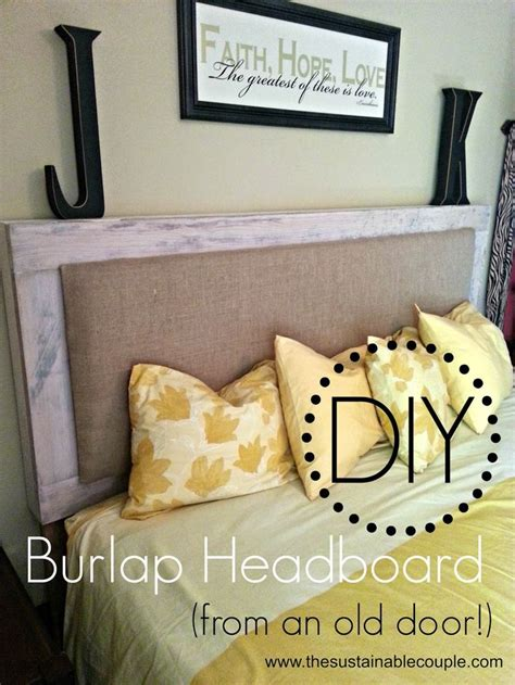 best 25 burlap headboard ideas on diy fabric headboard padded fabric headboards