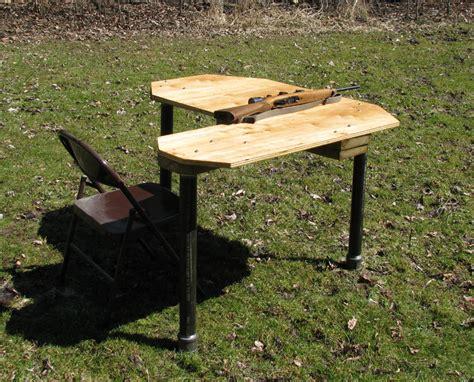 shooting bench plans portable money source