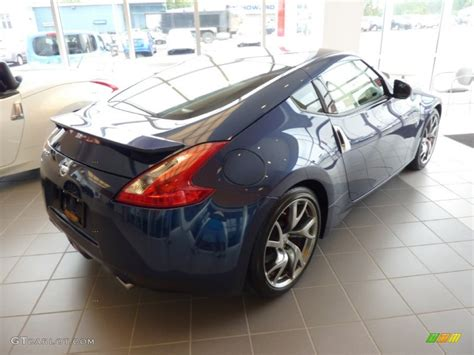 nissan midnight blue 2013 midnight blue nissan 370z sport coupe 69214210 photo