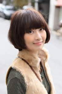 asian bob haircut with bangs for 2016 fashion qe