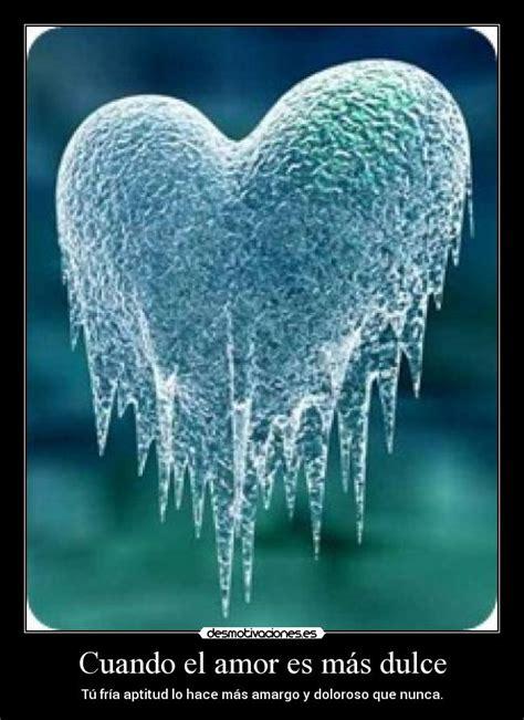 imagenes de invierno con frases cuando el amor es m 225 s dulce desmotivaciones