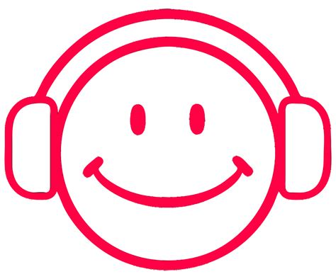 with headphones gallery for gt smiley with headphones clipart