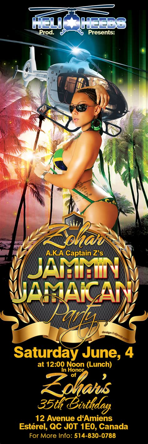 flyer design jamaica club flyers dj emir hip hop mixtapes designs