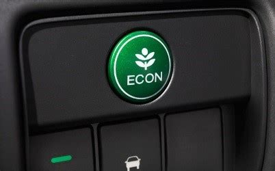 Honda Econ Button by Drive The Future With Honda Technology Honda Dealer