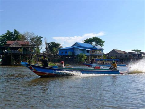 siem reap floating village boat price cycling and floating village join in tour triple a
