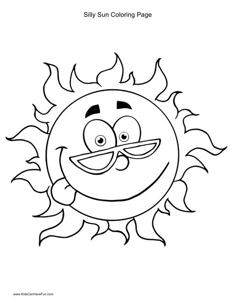 Corner Sun Coloring Page | how to draw corner sun