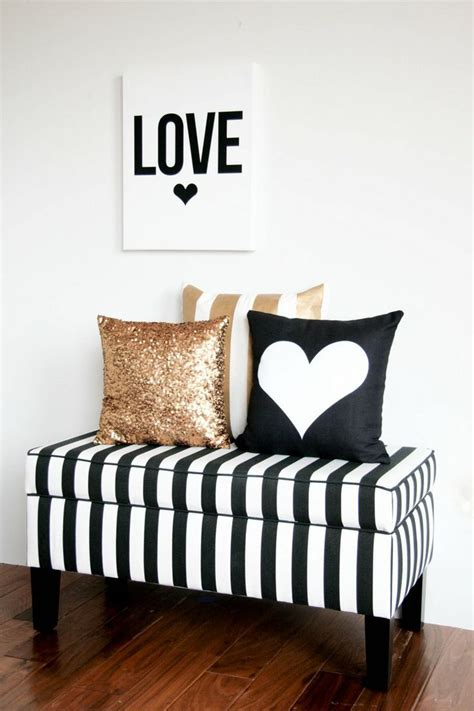 gold black and white bedroom diy valentine s day pillows home decoration for valentine