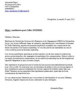 Lettre De Motivation Entreprise Internationale Td 6 Lettre De Motivation D Alexandra