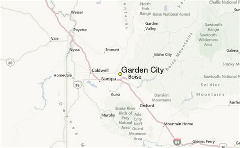 garden city weather station record historical weather