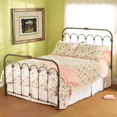 iron bed headboards hillsboro iron bed by wesley allen aged rust finish