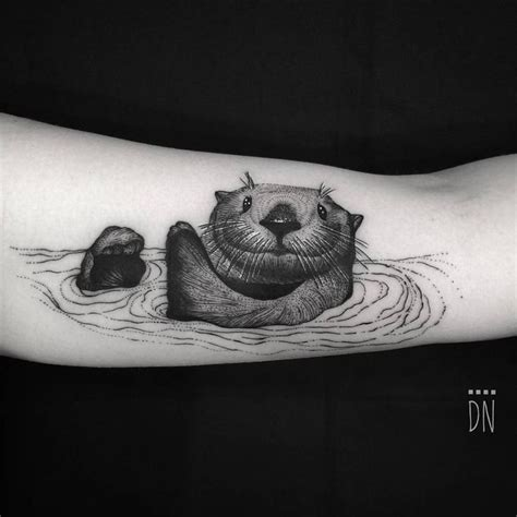 sea otter tattoo 384 best images about tattoos on and