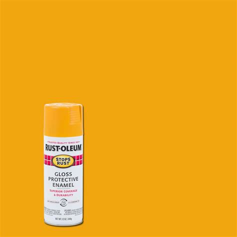 rust oleum specialty 12 oz epoxy gloss white appliance spray paint 7881830 the home depot
