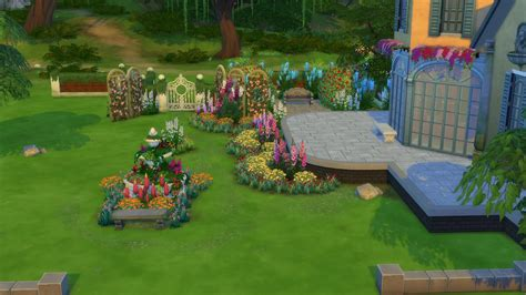 the sims 4 garden stuff 60 screens from the trailer