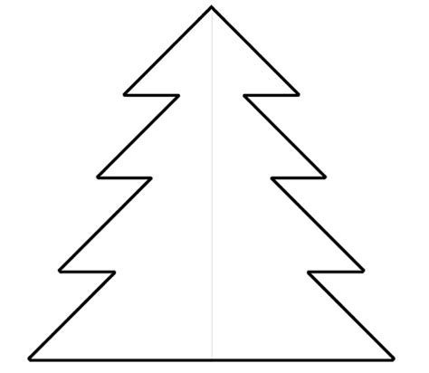 Christmas tree cut out pattern car tuning