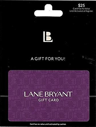 Lane Bryant Gift Card Balance - amazon com lane bryant gift card 25 gift cards