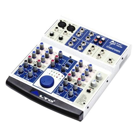 Mixer Alto Amx 140fx disc alto amx 100fx mixer with dsp effects at gear4music