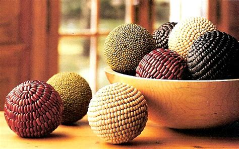 decorative bean balls bean mosaic bean balls