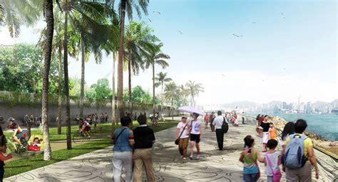 park west landscape landscape design unveiled for west kowloon cultural