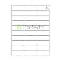 Mailing Label Templates 30 Per Sheet by 30000 2 625 X 1 Laser Address Shipping Adhesive Labels