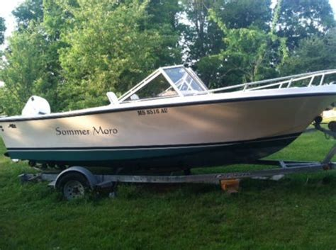 dual console boats for sale in ma 1993 mako 195 dual console power boat for sale in s