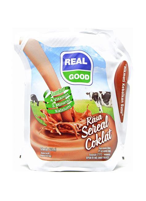 Uht Cokelat real cair uht sereal cokelat pch 125ml