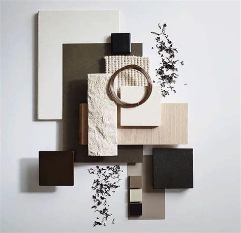 material palette neutral warm panneau materiels