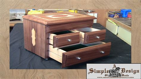 how to make jewelry boxes an inlay jewelry box part 2