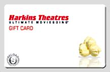 Harkins Theatres Gift Card - harkins deal free popcorn coupon with 25 gift card purchase new cup shirt on