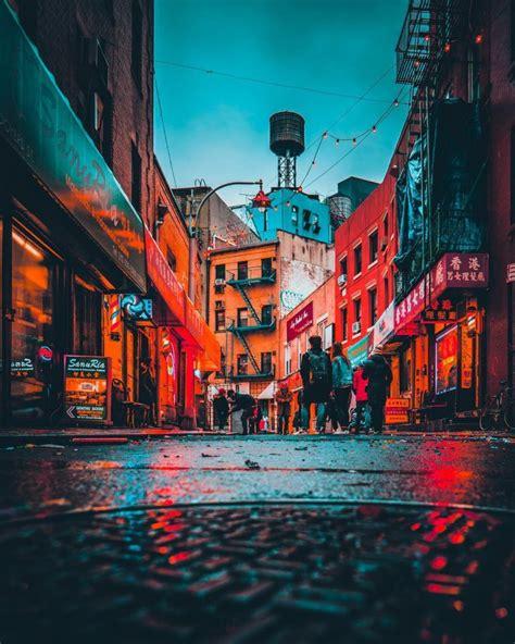 stunning moody street    york city  mazz elias