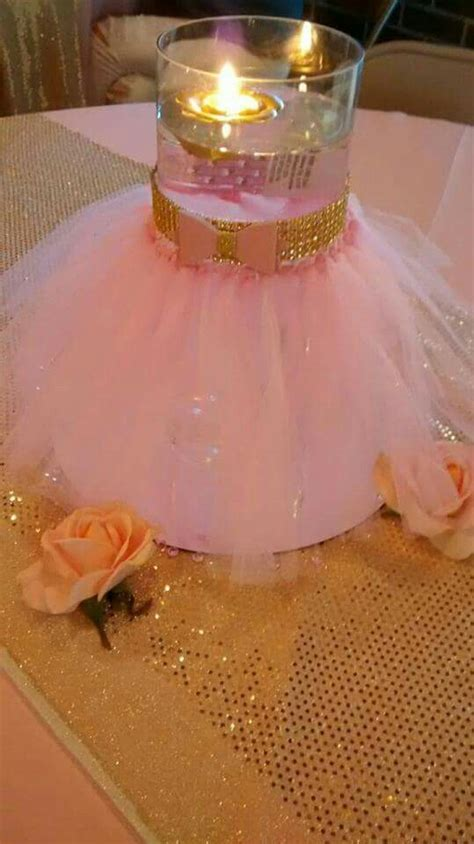 a theme come true events pink and gold little princess baby shower diy tutu glass