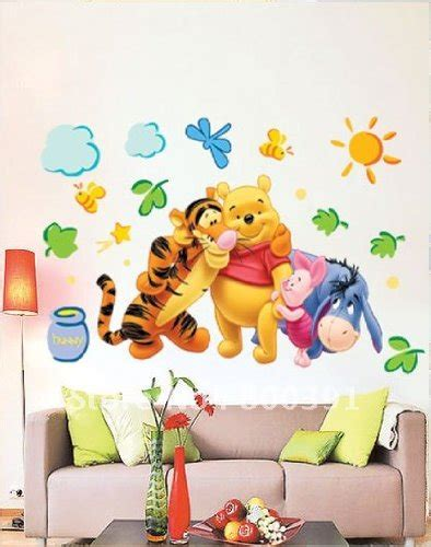 winnie the pooh schlafzimmer winnie pooh wandtattoo klein oder