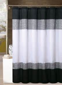 Black White Gray Curtains Best 25 Black Shower Curtains Ideas On Brown Curtains Black Bathroom Decor And