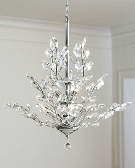 chandelier silver 9 light silver leaf chandelier
