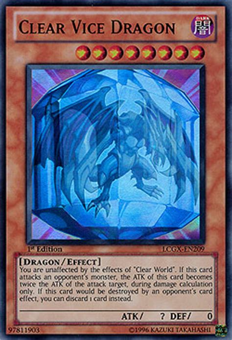 Kartu Yugioh Clear Vice Secret clear vice legendary collection 2 legendary